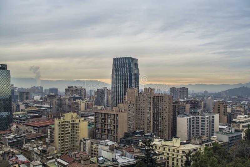Bâtiment à Santiago photo libre de droits