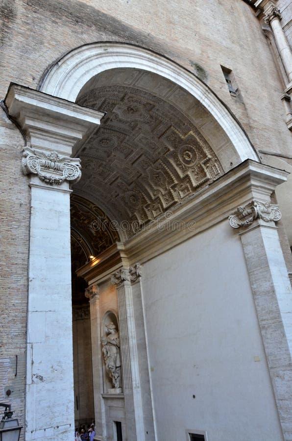 Bâtiment à Vatican photos libres de droits