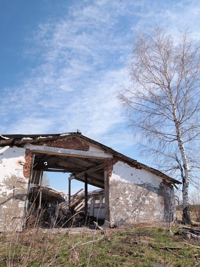 Bâtiment abandonné photographie stock