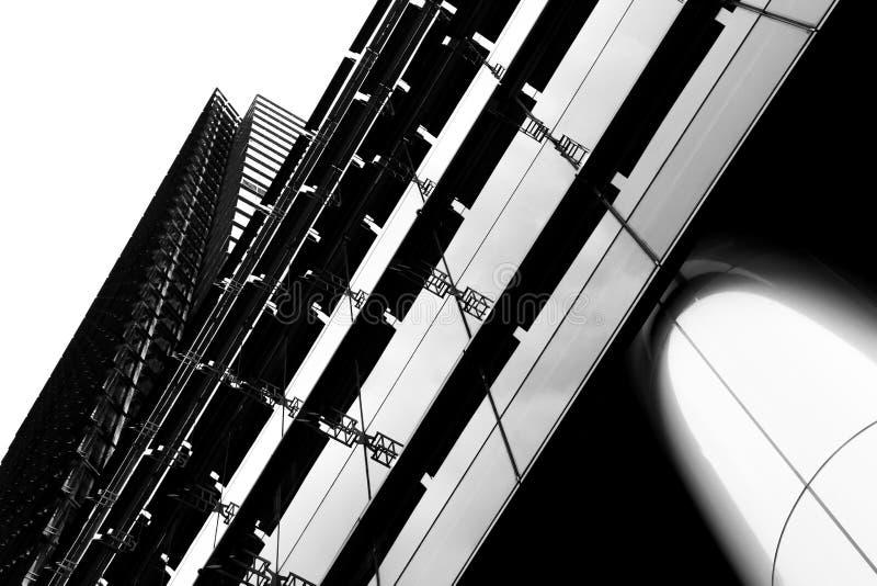 Bâtiment abstrait photos stock