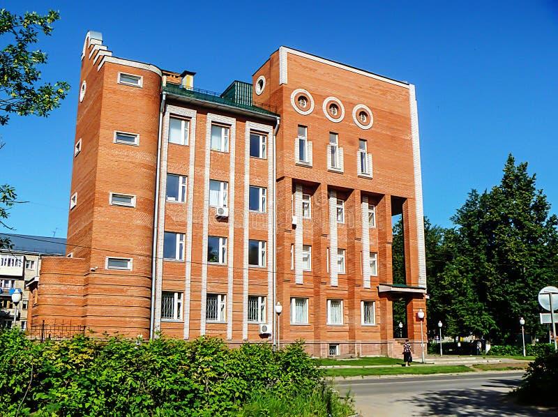 Bâtiment au contrôle fiscal dans la ville Vyazniki photographie stock libre de droits