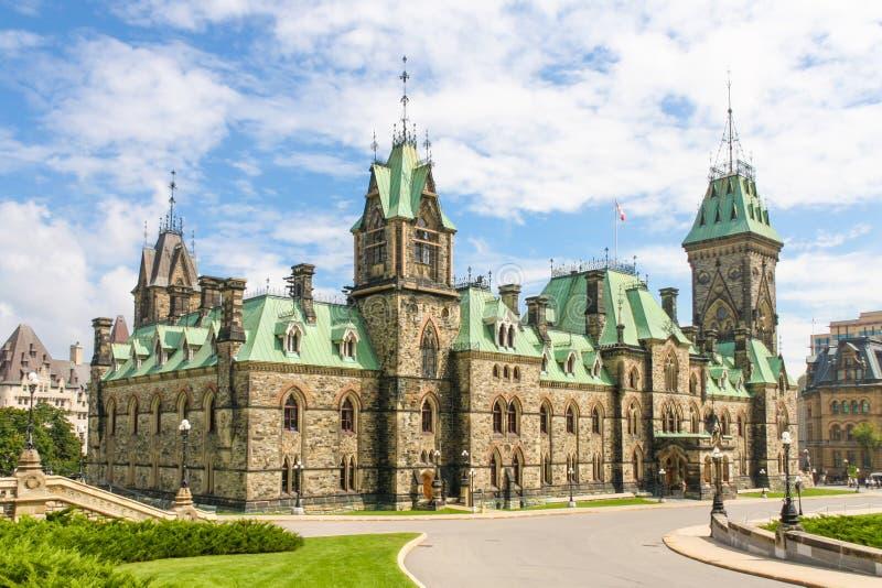 Bâtiment canadien du Parlement, Ottawa, Canada photos libres de droits
