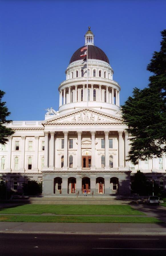 Bâtiment capital de la Californie image libre de droits