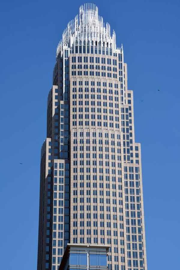 Bâtiment central d'entreprise de la Banque d'Amérique photographie stock