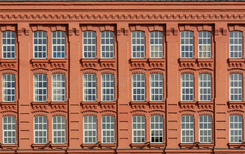 Bâtiment classique de façade d'architecture de vintage photos libres de droits