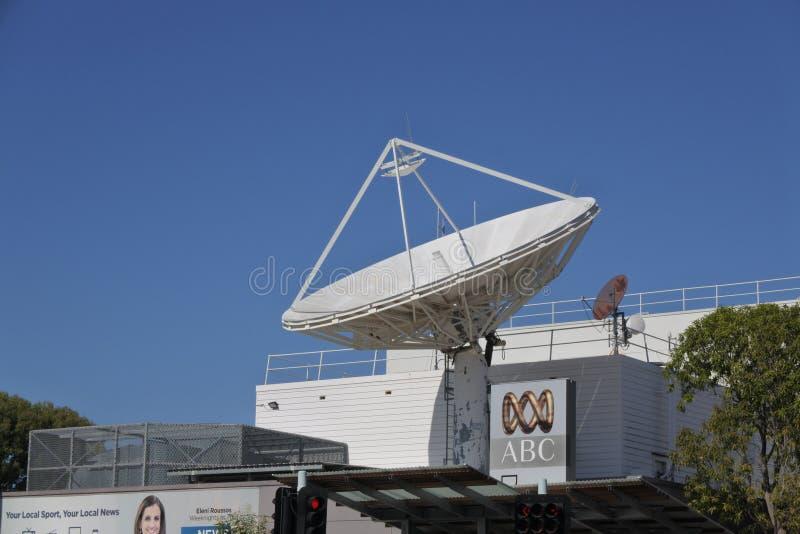 Bâtiment d'ABC News Australie en Darwin Australia photographie stock