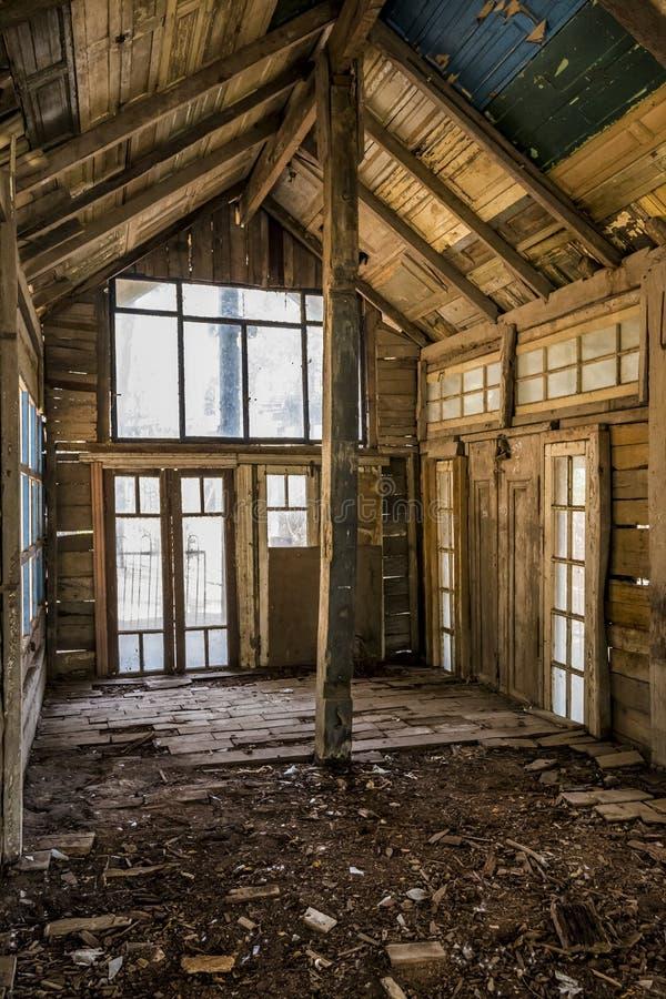 Bâtiment d'Abnadoned dans Campanopolis photographie stock libre de droits