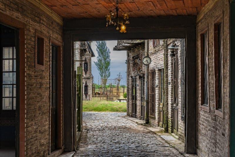 Bâtiment d'Abnadoned dans Campanopolis photo stock