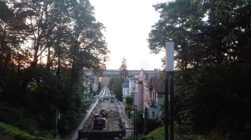 Bâtiment d'eberswalde de l'Allemagne photo stock