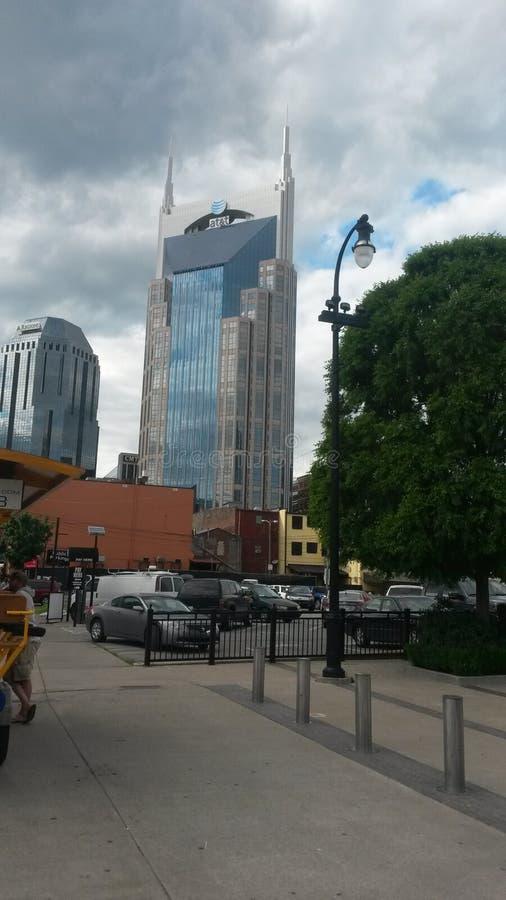 Bâtiment d'AT&T à Nashville image libre de droits