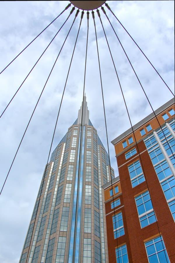 Bâtiment d'AT&T de Nashvilles photographie stock libre de droits