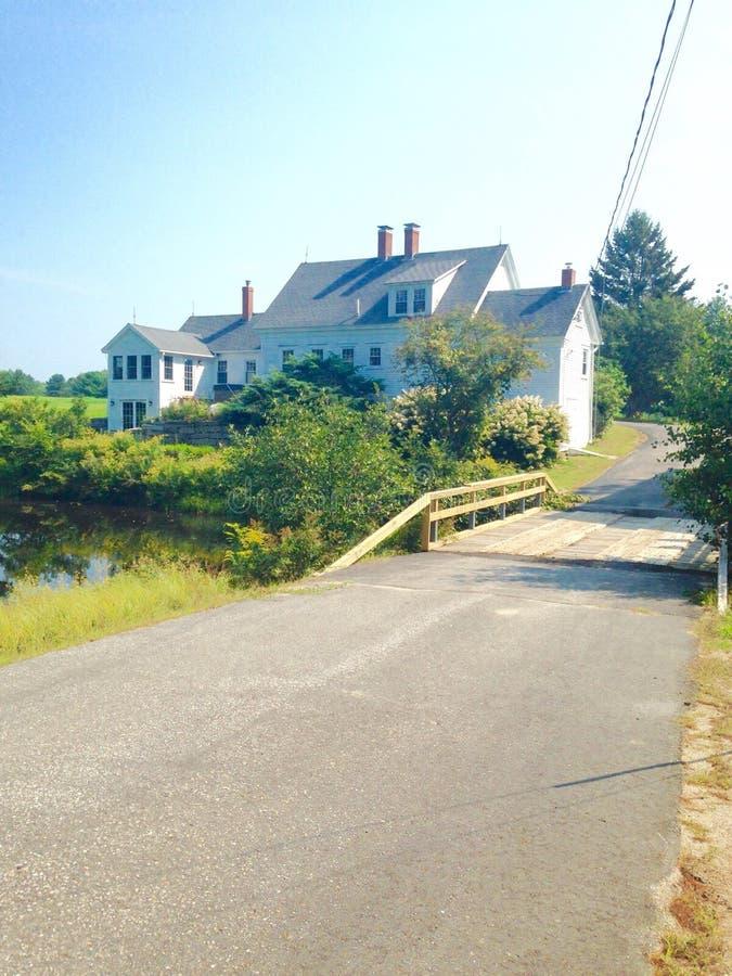 Bâtiment dans Maine images stock