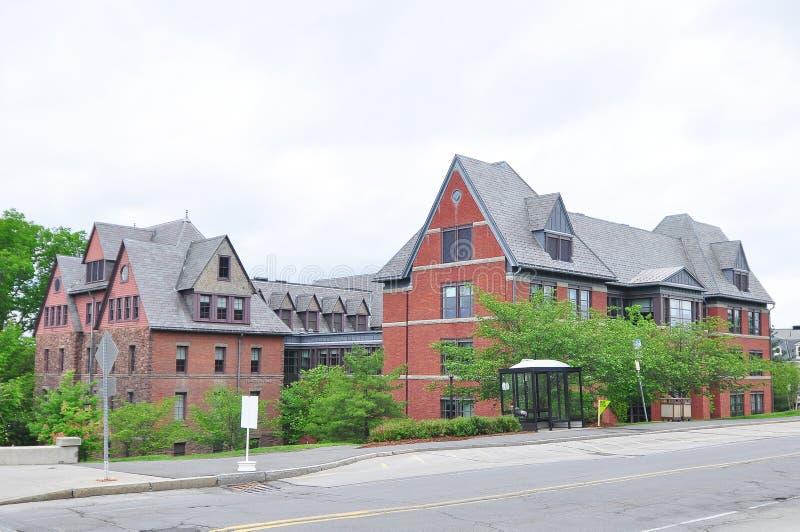 Bâtiment de campus photographie stock