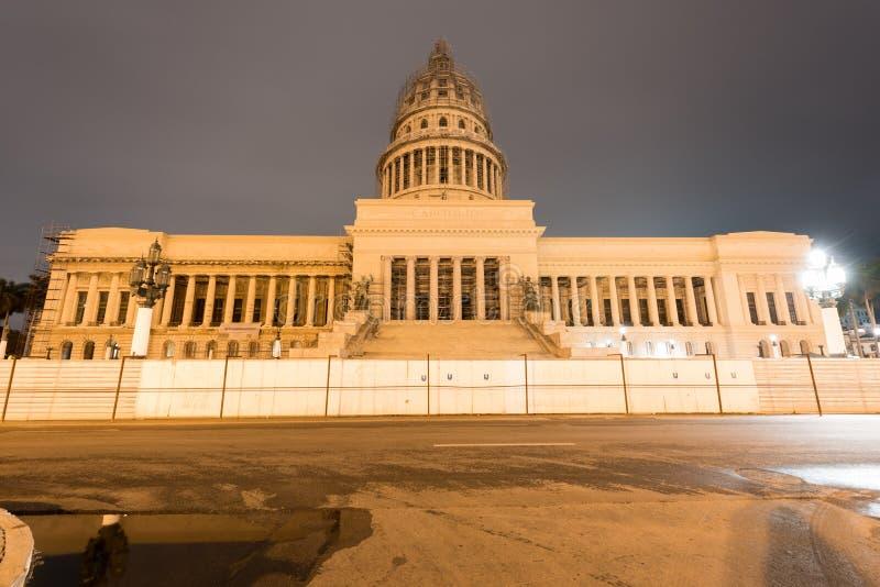 Bâtiment de capital national - La Havane, Cuba image stock