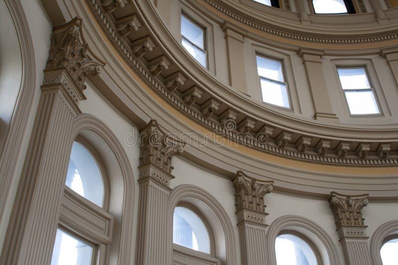 Bâtiment de capitale de l'État du Colorado image libre de droits