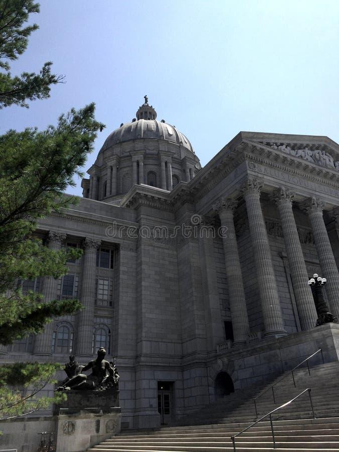 Bâtiment de capitale de l'État du Missouri photographie stock libre de droits