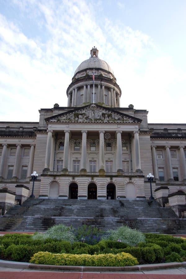 Bâtiment de capitol d'état du Kentucky photographie stock libre de droits