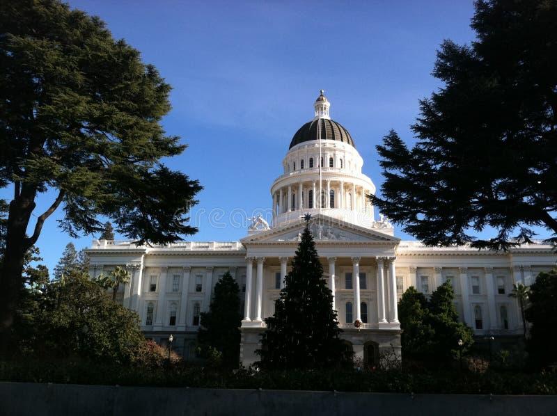 Bâtiment de capitol de Sacramento image libre de droits