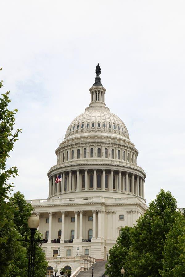 Bâtiment de capitol des Etats-Unis dans le Washington DC, Etats-Unis État uni photos libres de droits