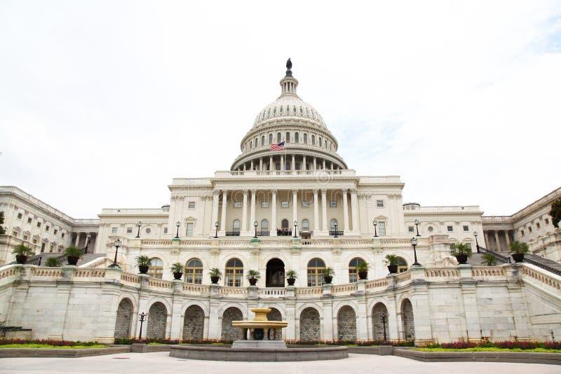 Bâtiment de capitol des Etats-Unis dans le Washington DC, Etats-Unis État uni image libre de droits