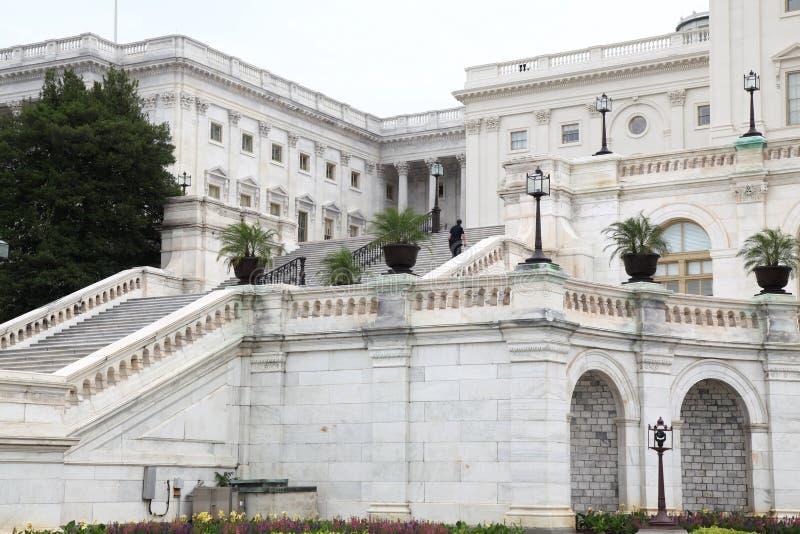 Bâtiment de capitol des Etats-Unis dans le Washington DC, Etats-Unis État uni photos stock