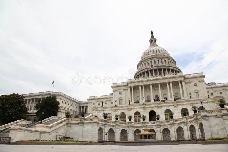 Bâtiment de capitol des Etats-Unis dans le Washington DC, Etats-Unis État uni images libres de droits