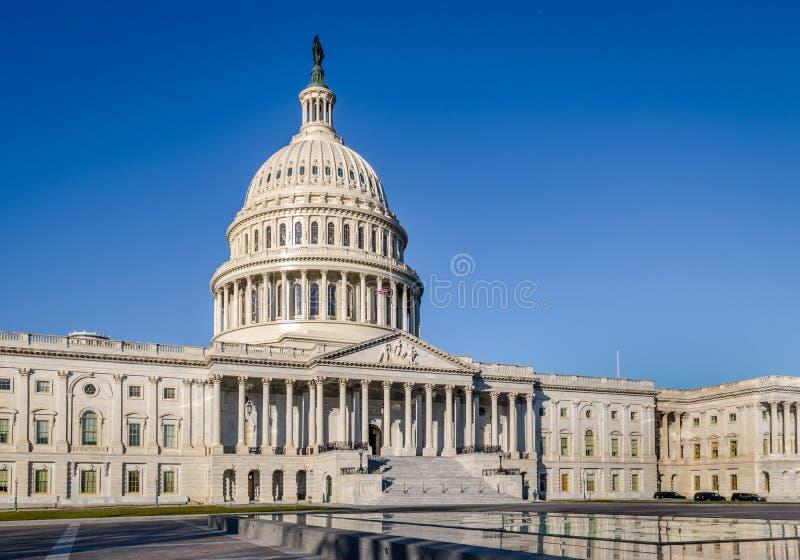 Bâtiment de capitol des Etats-Unis - Washington, C.C, Etats-Unis image libre de droits