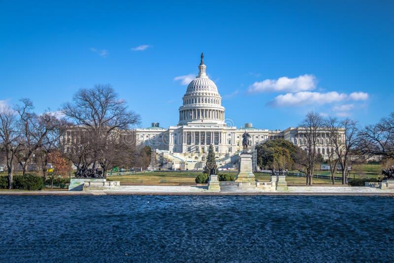 Bâtiment de capitol des Etats-Unis - Washington, C.C, Etats-Unis photo stock