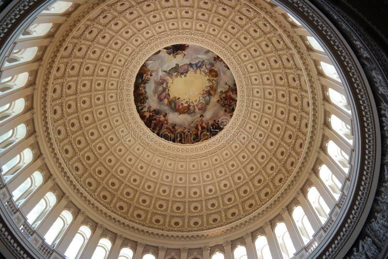 Bâtiment de capitol des USA rotunda photos libres de droits