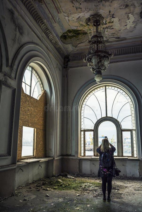 Bâtiment de casino, Constanta, Roumanie photographie stock libre de droits