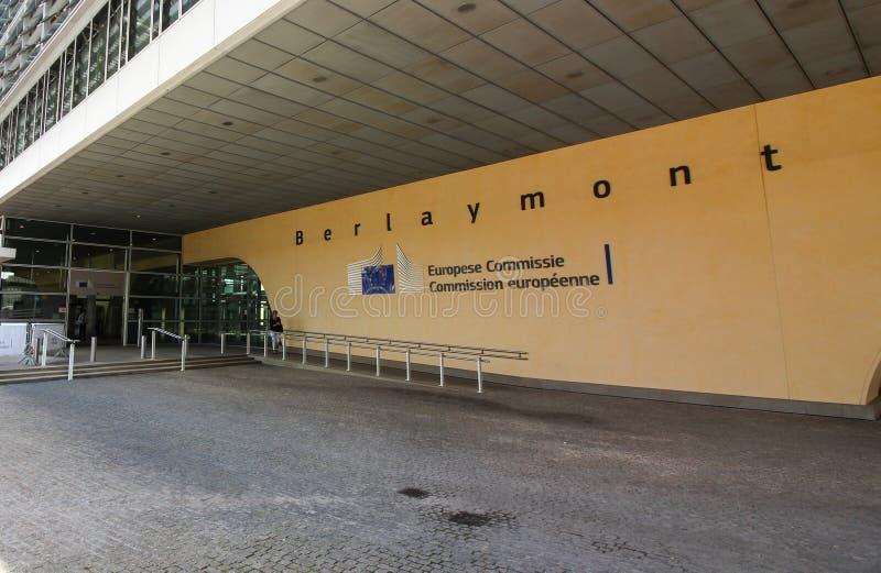 Bâtiment de Commission européenne - bâtiment de Berlaymont photo stock