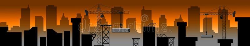 Bâtiment de construction photographie stock