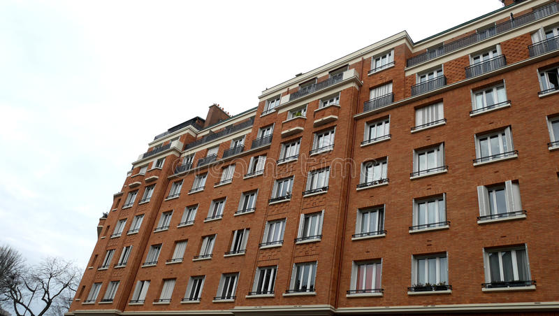 Bâtiment de façade photographie stock