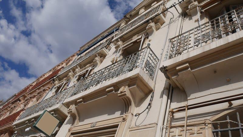 Bâtiment de façade image stock