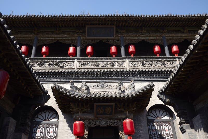 Bâtiment de famille de Qiao images libres de droits
