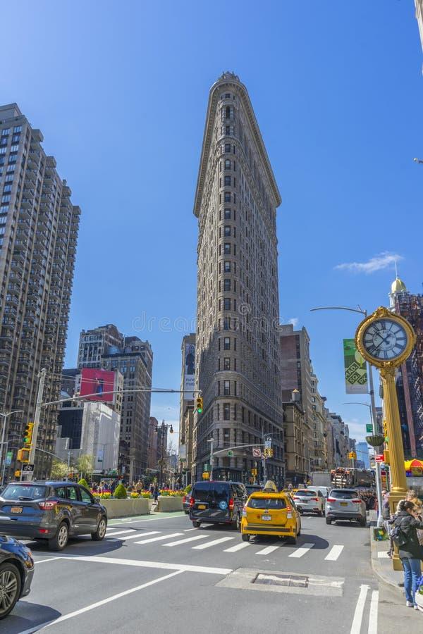Bâtiment de fer à repasser dans NYC photographie stock