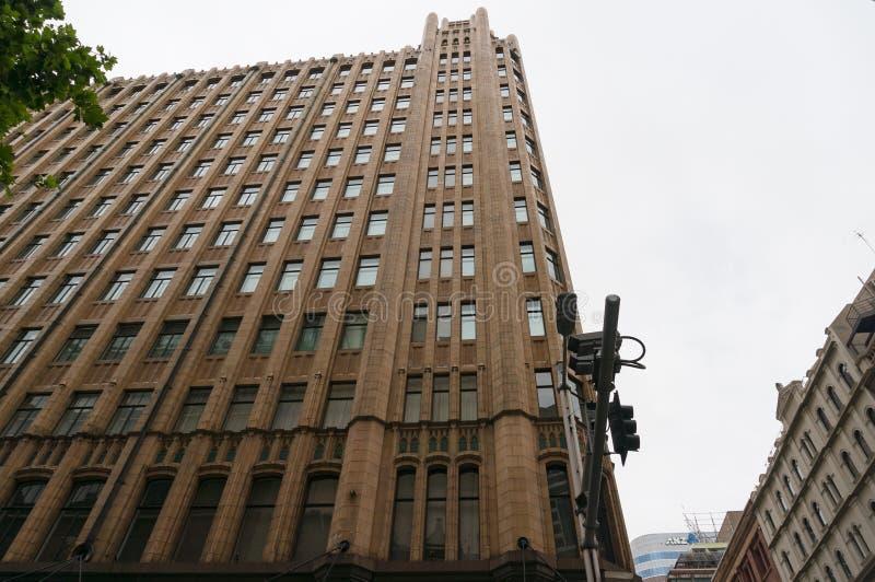 Bâtiment de Grace Hotel dans le style gothique de gratte-ciel de fédération à Sydney photographie stock