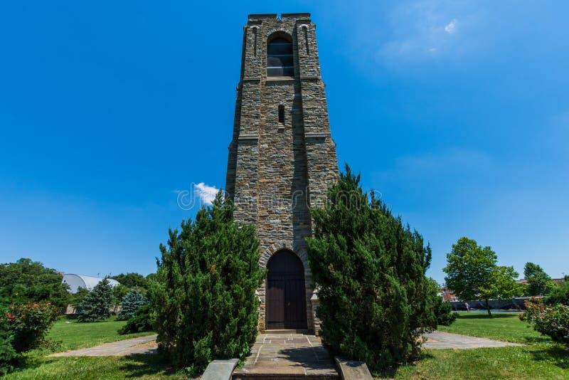 Bâtiment de Joseph Dill Baker Memorial Carillion en Frederick, Mary photos libres de droits