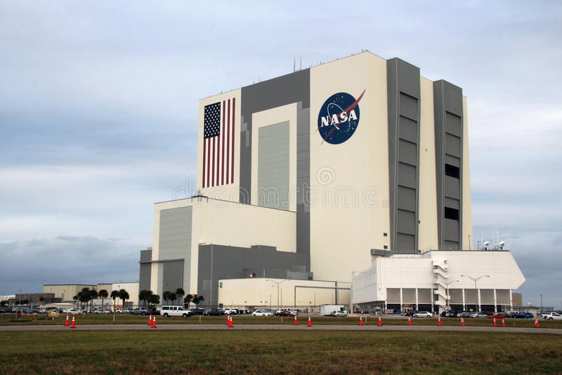 Bâtiment de Kennedy Space Center Vehicle Assembly photographie stock