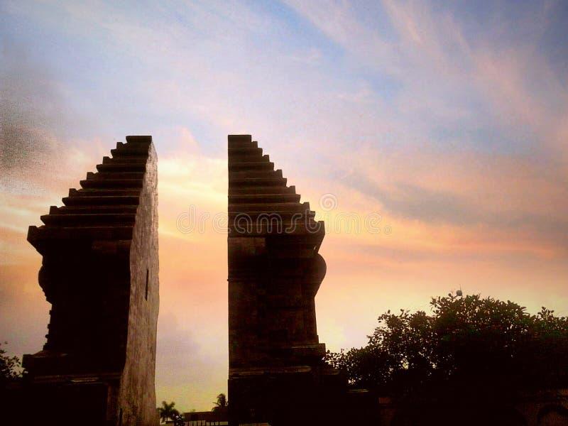 Bâtiment de l'Indonésie photo stock