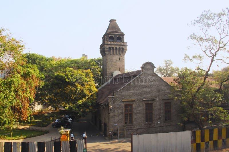 Bâtiment de l'université de l'ingénierie, COEP, Pune photo libre de droits