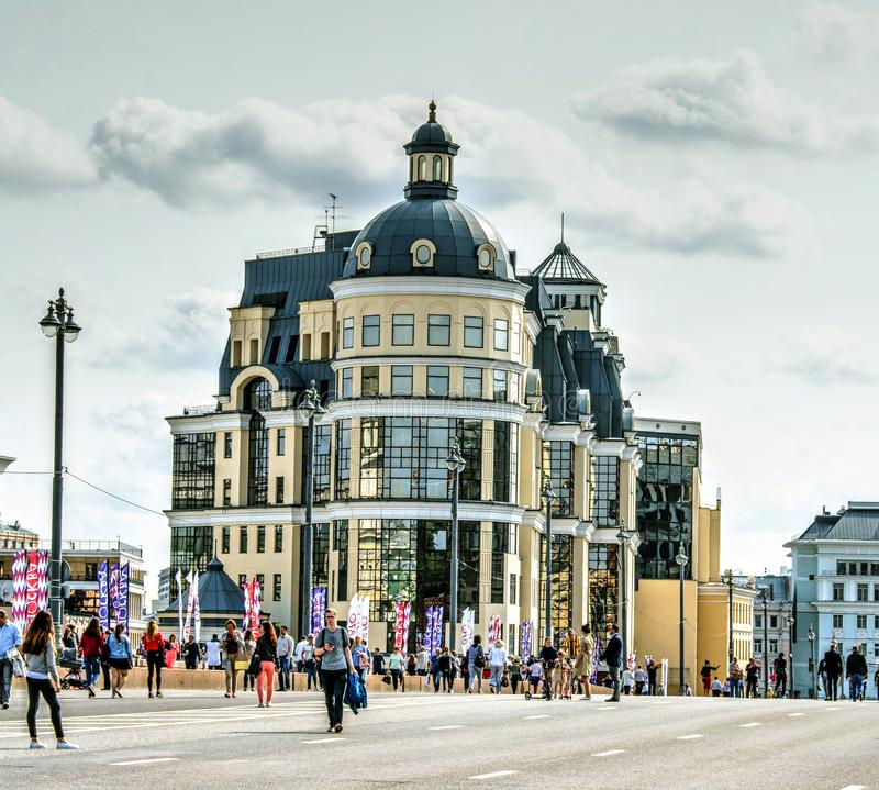 Bâtiment de la banque centrale de la Fédération de Russie photos stock
