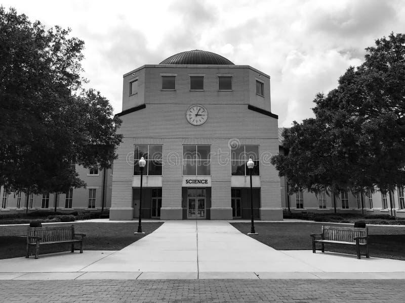Bâtiment de la Science de santé sur le campus de Charleston Southern University photographie stock