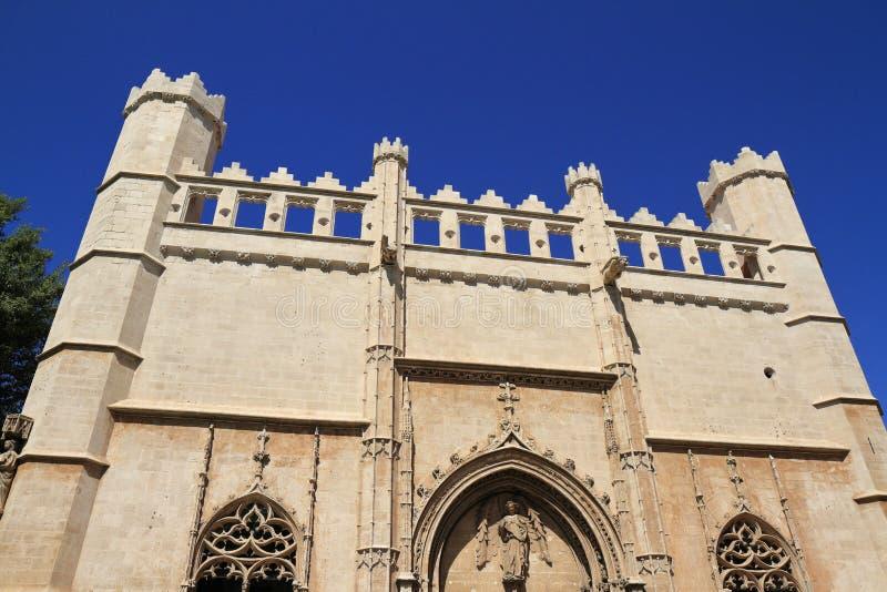 Bâtiment de Lonja De Palma chez Palma de Mallorca photos libres de droits