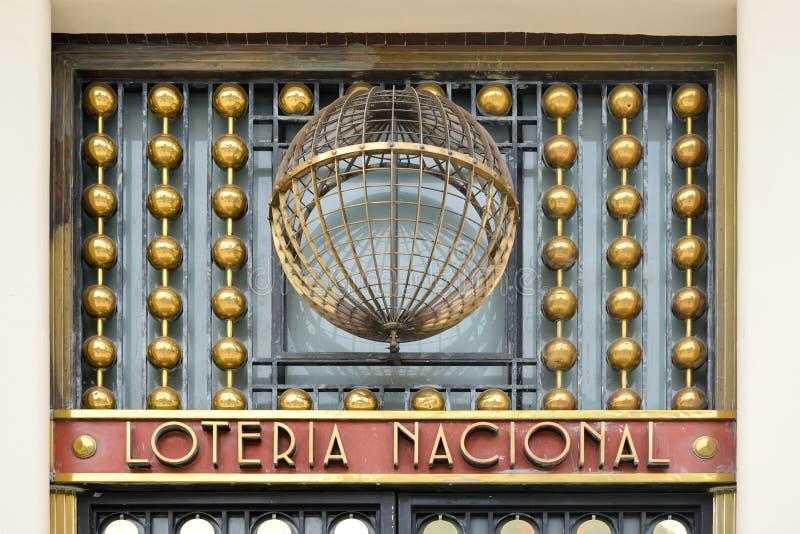 Bâtiment de loterie - Mexico photographie stock libre de droits