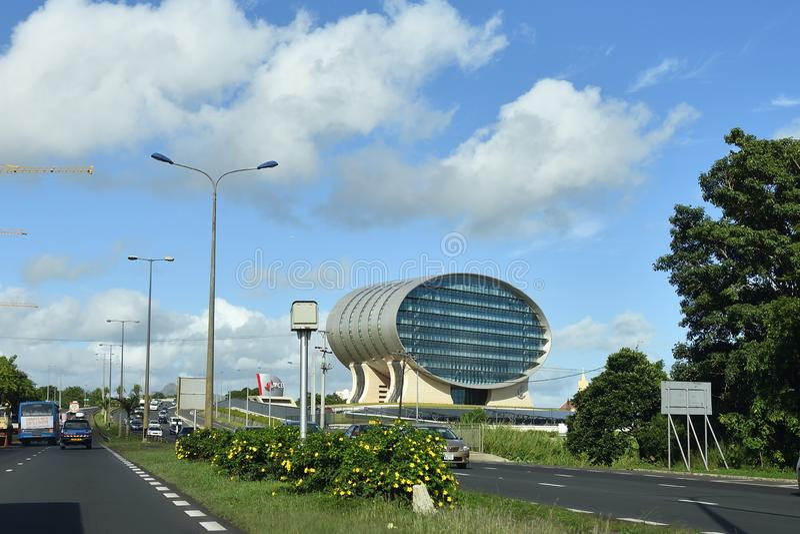Bâtiment de Mauritius Commercial Bank photos libres de droits