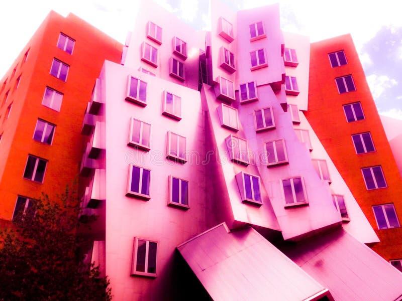Bâtiment de MIT images libres de droits
