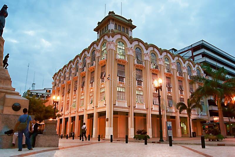 Bâtiment de Municipio, Guayaquil, Equateur images libres de droits