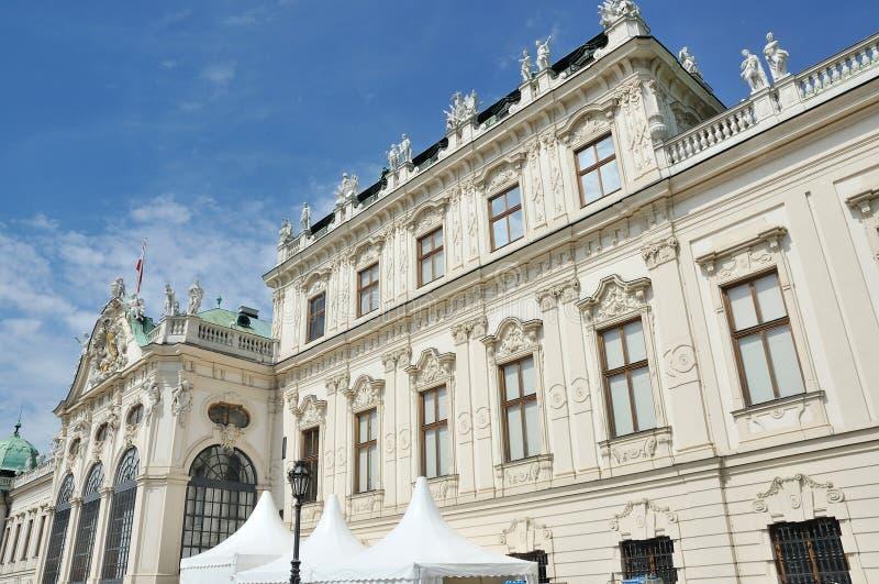 Bâtiment de palais de belvédère, Vienne Autriche photographie stock libre de droits