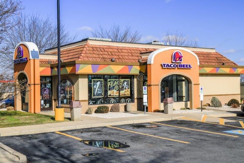 Bâtiment De Restaurant D'aliments De Préparation Rapide De Taco Bell Photographie éditorial - Image du préparation, taco: 84823902
